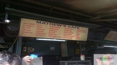 Mathew's cafe- N Delhi