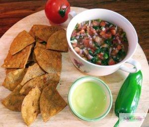 Nachos-Salsa